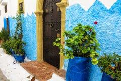 Kasbah Oudaia in Rabat, Morocco Royalty Free Stock Photos