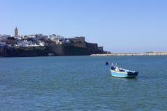 Kasbah Oudayas, à Rabat, le Maroc images stock