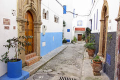Kasbah Oudayas, a Rabat, il Marocco Fotografia Stock