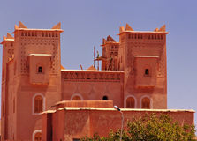 Kasbah palace in Morocco Royalty Free Stock Photos