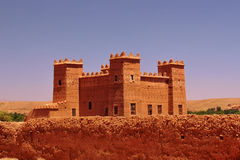 Kasbah palace in Morocco Stock Photography