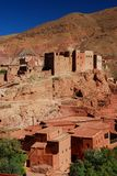 Kasbah in ruins. Ait Ibriren village, Dades Gorges Royalty Free Stock Photo