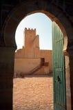 Kasbah Sfax, Tunisien royaltyfria foton