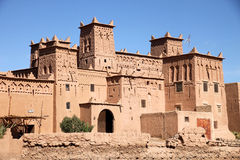 Kasbah in Skoura Royalty Free Stock Photo
