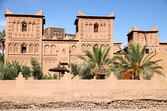 Kasbah in Skoura Royalty Free Stock Photos