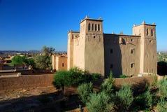 Kasbah. Skoura, Souss-Massa-Drâa, Marokko Lizenzfreie Stockbilder
