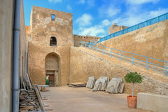 Kasbah in Sousse, Tunisia Royalty Free Stock Images