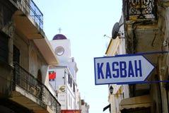 Kasbah Tangier, Marocko Fotografering för Bildbyråer