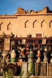 Kasbah Taourirt штифта Ouarzazate Марокко стоковые изображения