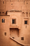 Kasbah Taourirt. Detail facade. Ouarzazate. Morocco. Royalty Free Stock Photography