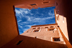 Kasbah Taourirt in eastern Ouarzazate, Morocco Stock Photos