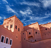Kasbah Taourirt in eastern Ouarzazate, Morocco Royalty Free Stock Photo