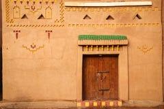 Kasbah Taourirt facade Ouarzazate morocco Royaltyfri Bild
