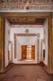 Kasbah Taourirt inre Ouarzazate morocco royaltyfria bilder
