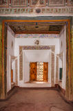 Kasbah Taourirt interior Ouarzazate marrocos Imagens de Stock Royalty Free