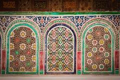 Kasbah Taourirt.Interior. Ouarzazate. Morocco. Stock Photography