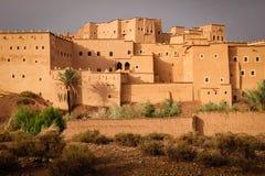 Kasbah Taourirt Ouarzazate Марокко Стоковая Фотография