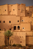 Kasbah Taourirt Ouarzazate morocco Royaltyfri Bild