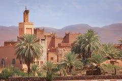 Kasbah Taourirt Ouarzazate morocco Arkivbilder