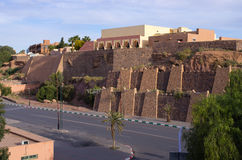 Kasbah Taourirt in Ouarzazate, Morocco Royalty Free Stock Photos
