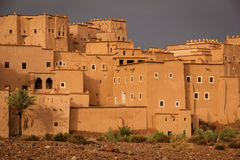 Kasbah Taourirt . Ouarzazate. Morocco. Royalty Free Stock Images