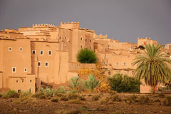 Kasbah Taourirt . Ouarzazate. Morocco. Stock Photography