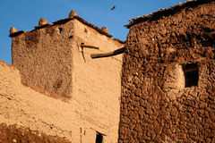 Kasbah Taourirt specificera Ouarzazate morocco Arkivfoton