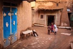 Kasbah Taourirt. square in the medina. Ouarzazate. Morocco. Stock Image