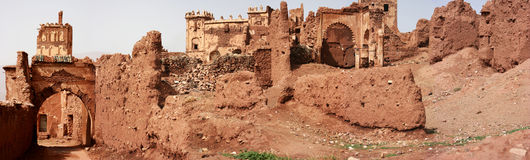 Kasbah Telouet Image stock