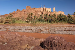 Kasbah Tifoultoute. Ouarzazate. Morocco. Royalty Free Stock Photo