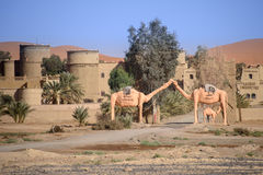 Kasbah Tombouctou, Hassilabied, Μαρόκο στοκ εικόνα με δικαίωμα ελεύθερης χρήσης