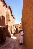 Kasbah. A typical kasbah of Morocco stock photo