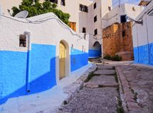 Kasbah of the Udayas in Rabat Royalty Free Stock Photo