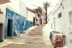 Kasbah of Udayas in Rabat Stock Images