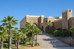 The Kasbah of the Udayas Royalty Free Stock Photography