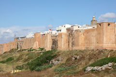 Kasbah of the Udayas in Rabat Stock Images