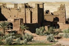 Kasbah van AIT Benhaddou, Marokko Royalty-vrije Stock Foto's