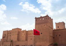 Kasbah von Taourirt 691. Ourzazate Royalty Free Stock Image