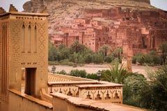Kasbahait ben haddou marokko Stock Afbeelding