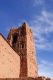 Kasbahen Ait Ben Haddou, Marocko Arkivbilder