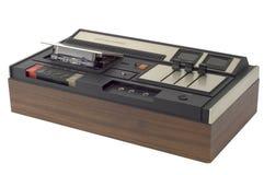 kaseta rejestrator retro Zdjęcie Royalty Free