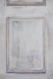 Kasetonuje ściennego lub drzwiowe szarość barwią, farbujący drewno Obraz Royalty Free