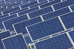kasetonuje photovoltaic Fotografia Royalty Free