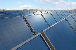 kasetonuje photovoltaic Obrazy Royalty Free