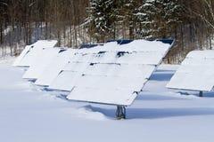 kasetonuje słoneczną zima Obraz Royalty Free
