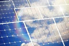 kasetonuje słonecznego Zdjęcie Stock