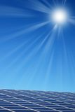 kasetonuje słonecznego Fotografia Stock
