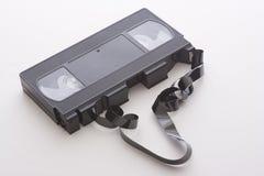 kasety łamany wideo Obrazy Royalty Free