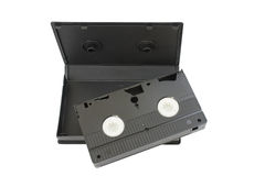kasety wideo Zdjęcie Stock