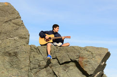 Kasey Rocks Photographie stock